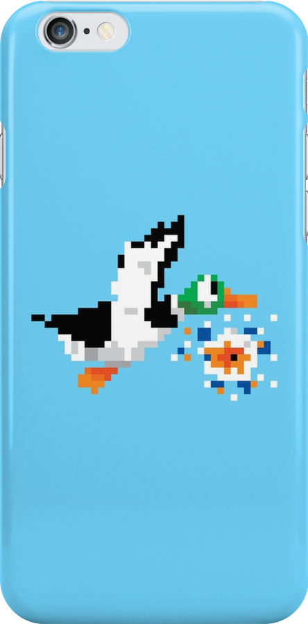 8-Bit Nintendo Duck Hunt 'Miss' by electricFIELD