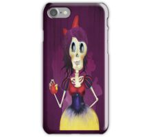 Snow white a la muerte  iPhone Case/Skin