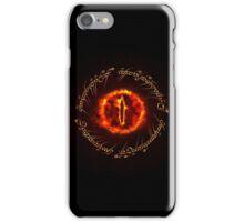 Sauron eye iPhone Case/Skin