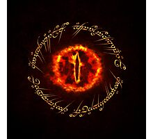 Sauron eye Photographic Print