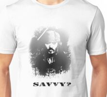 Pirates of the Carribean - 'Captain' Jack Sparrow Unisex T-Shirt
