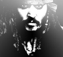 Pirates of the Carribean - 'Captain' Jack Sparrow Sticker