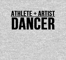 Athlete + Artist = Dancer Unisex T-Shirt
