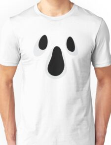 Gloomy ghost face sticker Unisex T-Shirt