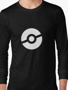 Pokeball Symbol Long Sleeve T-Shirt