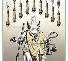 The Swords Suit - Nine of Swords by TheIsidoreTarot