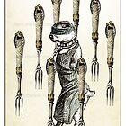 The Swords Suit - Eight of Swords by TheIsidoreTarot