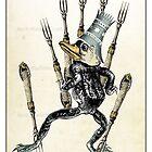 The Swords Suit - Seven of Swords by TheIsidoreTarot