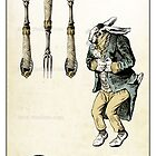 The Swords Suit - Four of Swords by TheIsidoreTarot