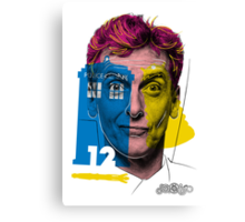 Doctor Warwhol #12 Canvas Print