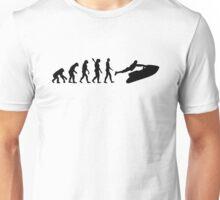 Evolution Jet Ski  Unisex T-Shirt