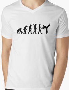 Evolution Karate kickboxing Mens V-Neck T-Shirt