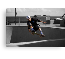 Frontside Lien To Tail Canvas Print