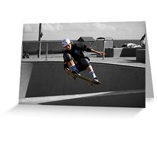 Frontside Lien To Tail Greeting Card