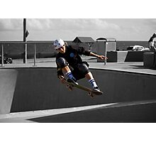 Frontside Lien To Tail Photographic Print