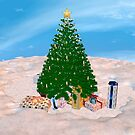 Christmas Tree and Presents by Vac1