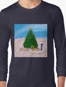 Christmas Tree and Presents Long Sleeve T-Shirt