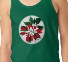 *Poinsettias* Tank Top