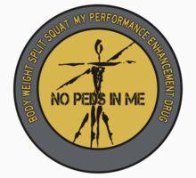 Body Weight Split Squat - My Performance Enhancement Drug Kids Tee