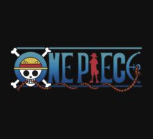 One Piece Luffy logo by kyubara