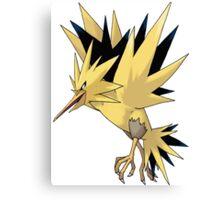 Zapdos Pokemon  Canvas Print