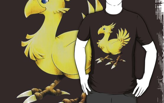 Chocobo Final Fantasy by francy94