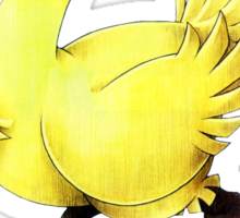 Chocobo Final Fantasy Sticker