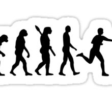 Evolution Relay race Sticker