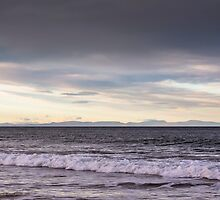 Lossiemouth view of Caithness and Sutherland by JASPERIMAGE