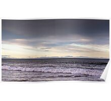 Lossiemouth view of Caithness and Sutherland Poster