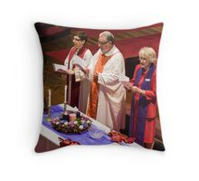 0517 Rev Dr Margaret Mayman's Induction Throw Pillow