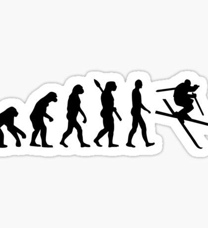 Evolution Ski Freestyle Sticker