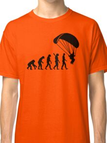 Evolution Skydiving Parachute jumping Classic T-Shirt