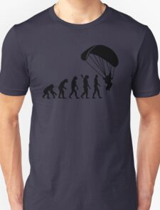 Evolution Skydiving Parachute jumping Unisex T-Shirt