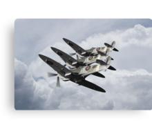 Formidable Spitfire Canvas Print
