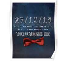 We'll never forget Poster