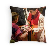 0547 Rev Dr Margaret Mayman's Induction Throw Pillow