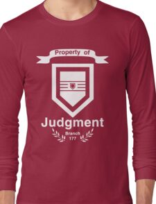 Property of Judgment Long Sleeve T-Shirt