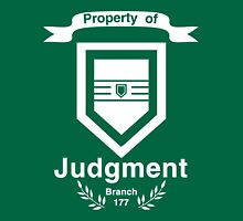 Property of Judgment Unisex T-Shirt