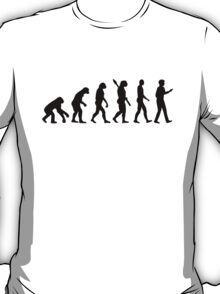 Evolution Cell Smartphone T-Shirt