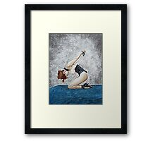 The Waiting Framed Print