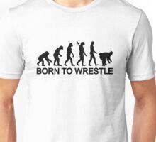 Evolution born to wrestle Sumo Unisex T-Shirt