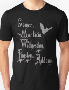 The Vampire's family T-shirt T-Shirt