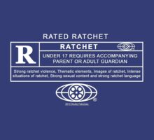 RATED R for Ratchet by languidcorpse
