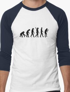 Evolution Table tennis ping pong Men's Baseball ¾ T-Shirt