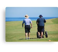 Cape Breton Golfers Canvas Print
