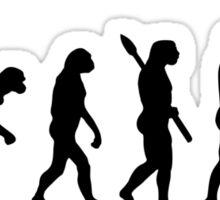 Evolution Tennis player  Sticker