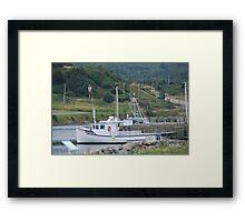 Fishing Boats of Cape Breton Framed Print