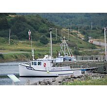 Fishing Boats of Cape Breton Photographic Print
