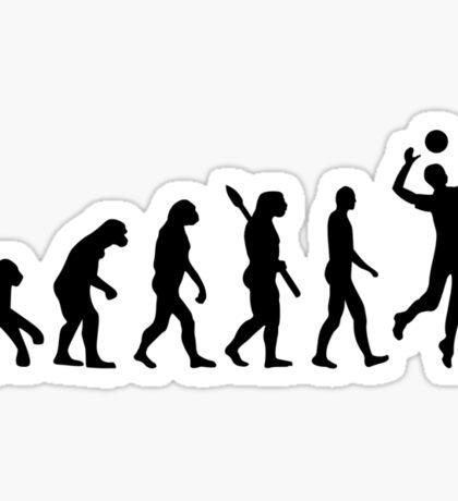 Evolution Volleyball player Sticker
